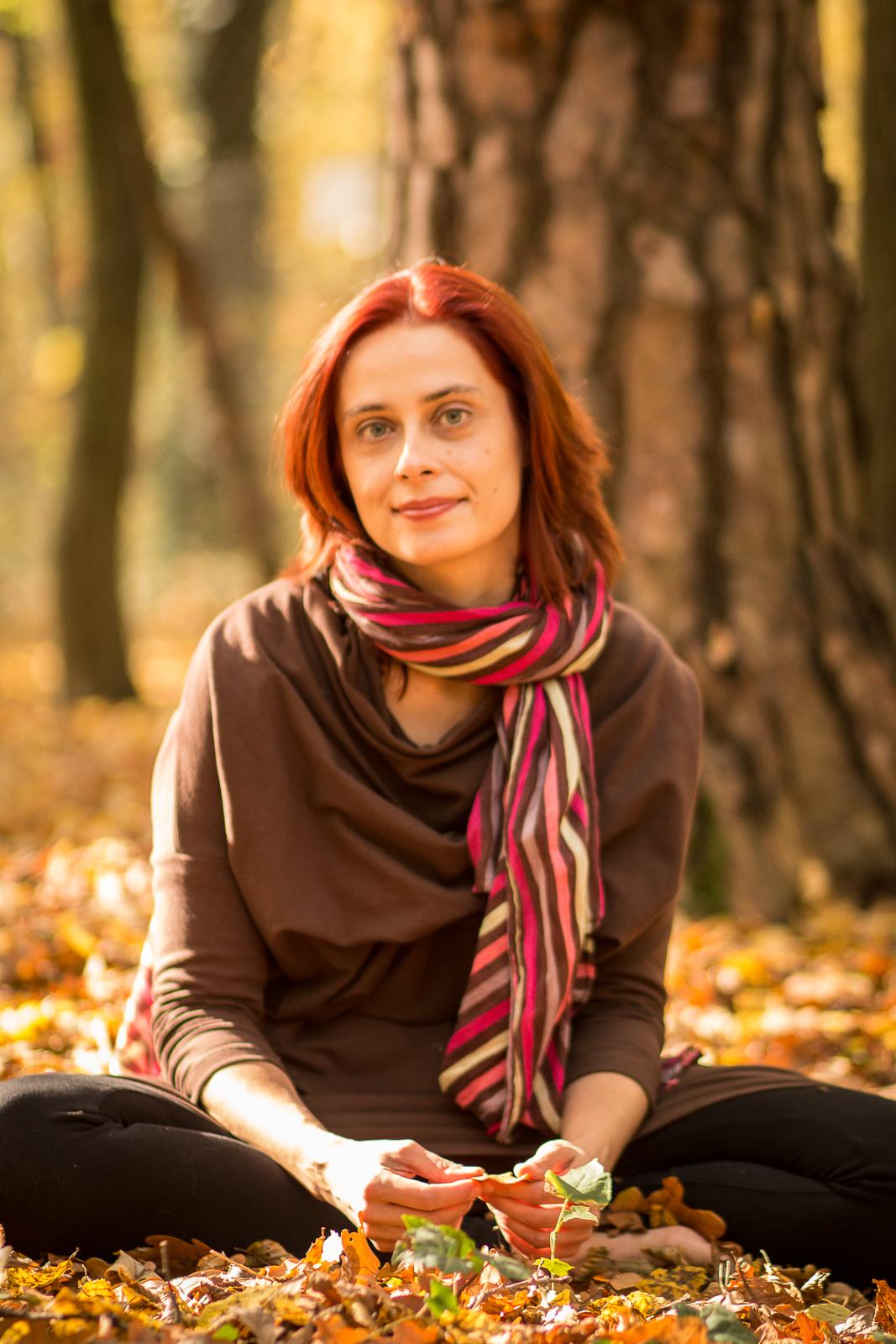 W jesiennym lesie